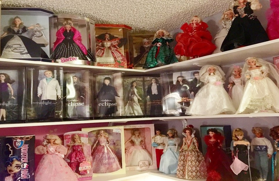 vintage barbie collection